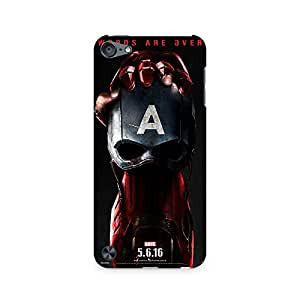 Mobicture Captain vs IronMan Premium Printed Case For Apple iPod Touch 6