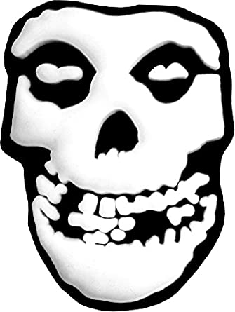 The Misfits - Crimson Ghost Skull Rubber Lapel Pin