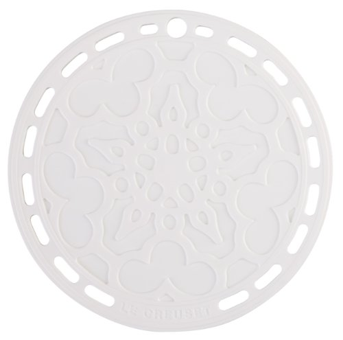 Le Creuset Silicone French Trivet (White)