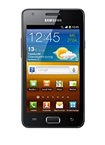 Samsung Galaxy R I9103 Smartphone (10,7 cm (4,2 Zoll) Display, Touchscreen, 5 Megapixel Kamera, Android 2.3) schwarz