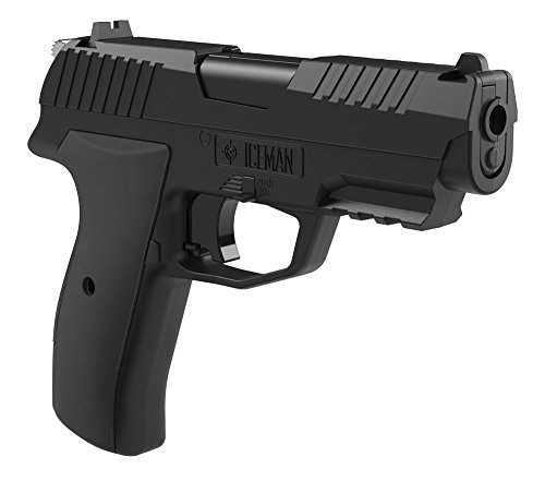 Crosman CCICE7B Iceman CO2 Semi-Auto BB/Pellet Pistol (Crosman Semi Auto Air Pistol compare prices)