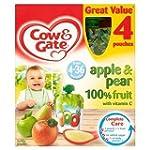 Cow & Gate 4-36 Mths+ Apple & Pear 10...