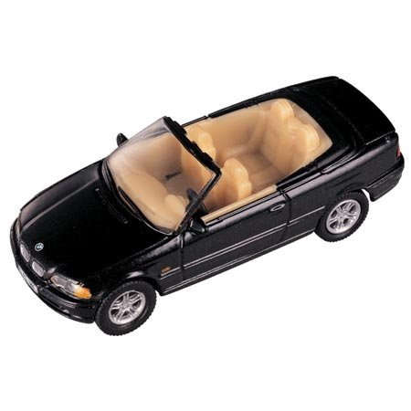 HO Die-Cast BMW 3 Series Convertible, Black - Buy HO Die-Cast BMW 3 Series Convertible, Black - Purchase HO Die-Cast BMW 3 Series Convertible, Black (Model Power, Toys & Games,Categories,Play Vehicles,Trains & Railway Sets)
