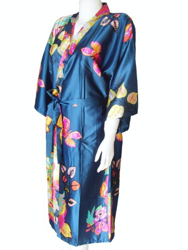 Beautiful floral dressing gown