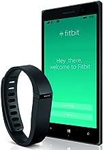 Nokia Lumia 830, Black/Green 16GB (AT&T) Bundled with Fitbit Flex Activity Tracker, Black