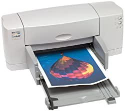 HP Deskjet 840c - Printer - color - ink-jet - Legal - 600 dpi x 600 dpi - up to 8 ppm (mono) / up to 5 ppm (color) - capacity: 100 sheets - Parallel, USB