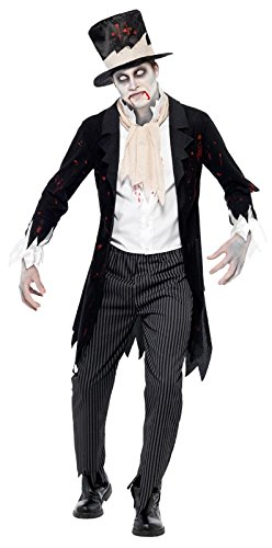 Smiffys Men's Till Death Do Us Part Zombie Groom Costume