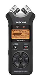 TASCAM TASCAM DR-07MKII Portable Digital Recorder