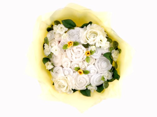 Twins Bouquet - White
