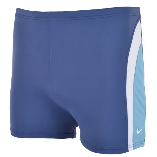Nike Lycra Mens Swimming Boxer Briefs - Blue - EMD1052 - 40