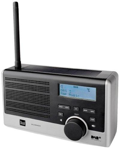 Dual DAB Portables Digital Radio mit Solarfunktion