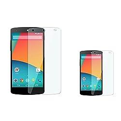 Big Zee Pack Of 2 LG Google Nexus 5 E980 Ultra Clear HD Screen Guard