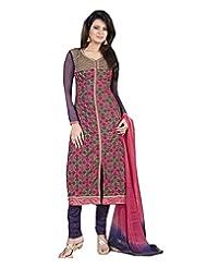 DivyaEmporio Women's Ethnic Salwar Suit Dupatta Unstitched Dress Material (Free Size) - B00V4IELBQ