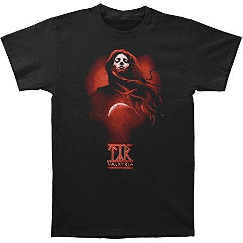 Michaner Walosde Tyr Men's Red Valkyrja T-shirt Black Large