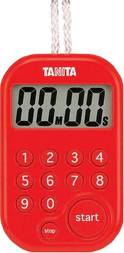 Tanita minuterie num?rique 100 minutes au total rouge TD-379-RD (japon importation)