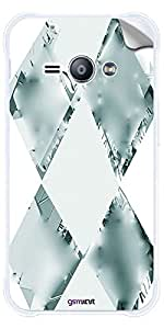 GsmKart J1A Mobile Skin for Samsung Galaxy J1 Ace (Green, Galaxy J1 Ace-480)