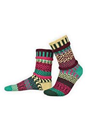 Solmate Zinnia Mismatched USA made Socks