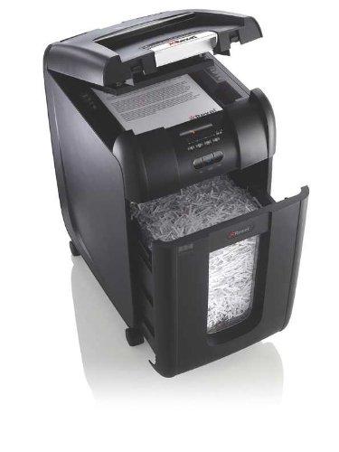 Rexel AutoPlus 250X Shredder Confetti Cross Cut 40 Litre DIN 3 4x50mm 250x 80gsm Ref 2103250