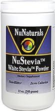 NuStevia White Stevia Powder 12 oz 340 g Pack of 2
