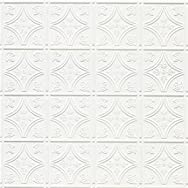 Shanker Industries W209 2 Tru-METAL Nonsuspended Ceiling Tile & Backsplash Tile Pack of 5