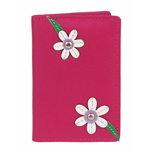 Mala Leather Blossom ID Card Holder