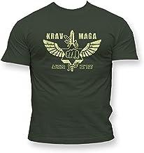 Dirty Ray Artes Marciales MMA Krav Maga camiseta hombre T-shirt K49