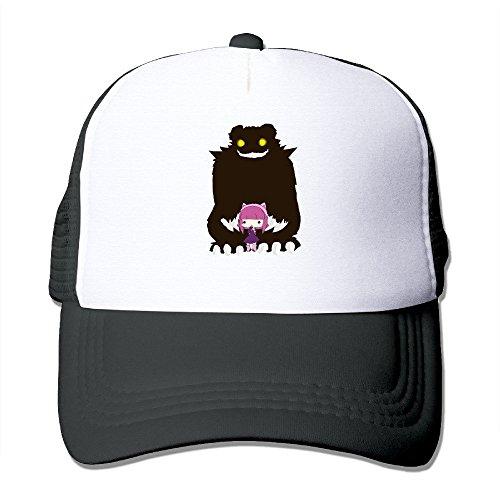 Donny Have You Seen My Bear Custom Baseball Hat Cap Lightweight Mesh Flexfit Black