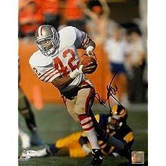 Ronnie Lott Signed Photo - 11x14 49er OA 8272445 - Autographed NFL Photos by Sports Memorabilia
