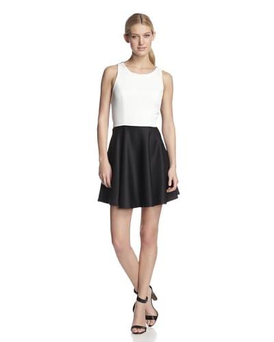 W118 by Walter Baker Women's Skye Dress  [Black/Off White]