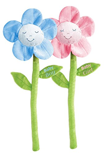 First & Main 9884 23 in. Assorted Petal Pals Plush Flower