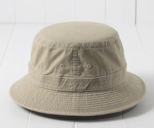 ボルサリーノ コットンサファリハット BR657・BS454 006.ダークベージュ LLサイズ 日本製 大きいサイズ 紫外線対策 UV対策 バケットハット コットンハット 折りたたみ 国産 メンズ 男性 紳士 お父さん 父の日 春夏秋 BORSALINO 帽子