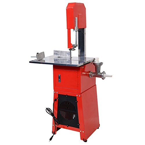 Tangkula-Electric-550W-Proffessional-Butcher-Meat-Band-Saw-Grinder