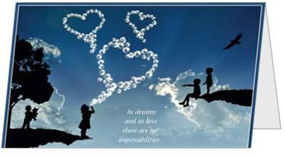 Love Just Because Birthday Clouds Anniversary