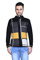 Bravezi Full Sleeve Woollen High-neck Sweaters