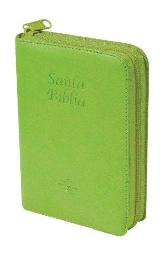 RVR60 Spanish Bible w Zipper Green Spanish Edition