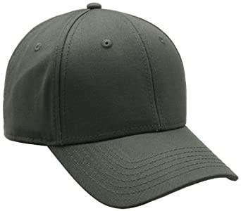 Dickies Men's Solid Adjustable Cap, Olive Green, One Size