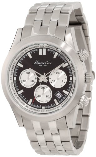 Kenneth Cole New York Men's KC9163 Dress Sport Pilot Chronograph 5 Link Watch