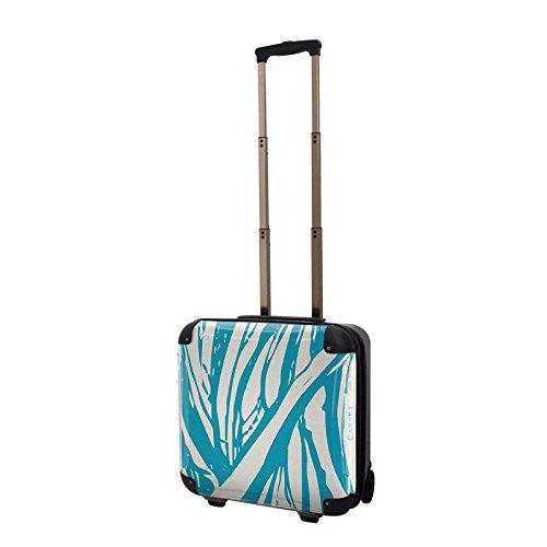 キャラート アートスーツケース ベーシック ソフィスティ(ブルーシエル) ジッパー2輪 機内持込 CRB01-035H
