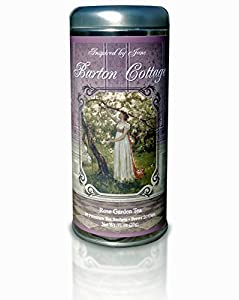 Barton Cottage - Rose Garden Premium Tea Sachets - Jane Austen Inspired Tea Collection - Gourmet Rose Tea Blend