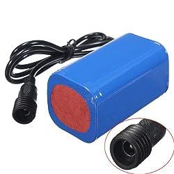 6400mAh 8.4v Rechargeable Battery Pack for Bike Headlight Headlamp
