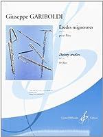 Etudes Mignonnes Opus 131 pour flûte