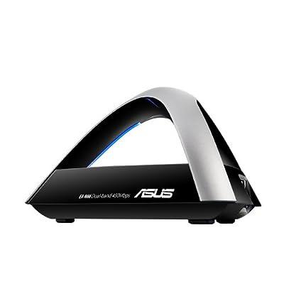 Asus N900 EA N66 Dual-Band Wireless Gigabit 3-in-1 AP/Wi-Fi Bridge/Range Extender (Black)