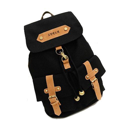 I9Q donna Lady Sacchetti di borsa vintage torna scuola borsa carina femminile Zaini spalla borse