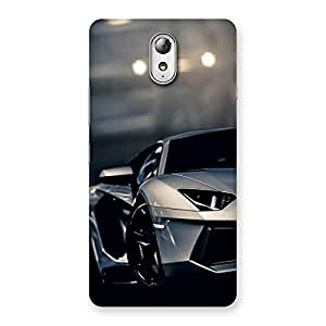 Special Royal Car Multicolor Back Case Cover for Lenovo Vibe P1M