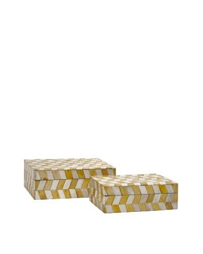 Essentials Buffalo Bone Boxes, Mellow Yellow