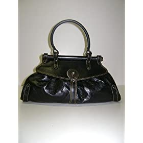 Fendi Handbags Black Leather Magic 8BN144