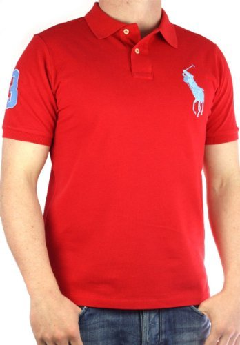 Polo by Ralph Lauren Big Pony poloshirt Men´s red genuine men tee Size 3XL