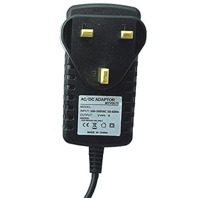 12V Iomega Select Desktop 1TB External hard drive replacement power supply adaptor - UK plug