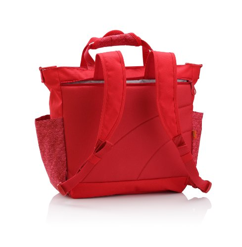 galleon okiedog sumo messenger backpack diaper bag sakawa red. Black Bedroom Furniture Sets. Home Design Ideas