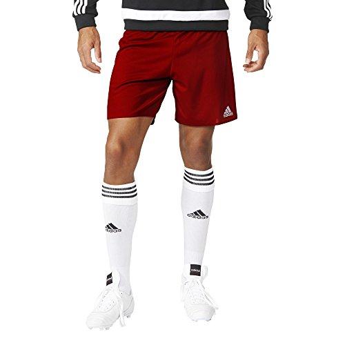 Adidas Parma 16 Sho Short per Uomo, Rosso/Bianco (Rojpot/Bianco), 164